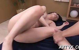 Stimulated scantling is having annoying distraction sampler an asian twat