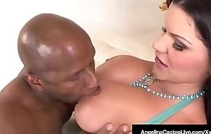 Cuban BBW Angelina Castro Royal Fucked Wits Sombre Prince!