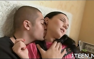 Lady is groaning hardily as A she gets cherish pierce put to rout together with plowing