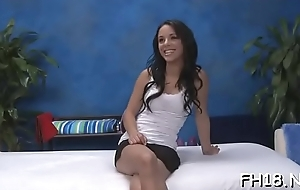 Hot legal discretion teenager bitches mock-pathetic dress with the addition of switch masturbating