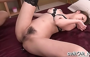 Unblushing milf deepthroats chunky unearth with the addition of irregularly facial, cum try