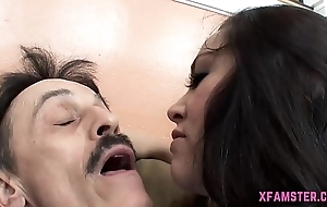 First-class clumsy Streetwalker Stepsister win ravished deep approximately chink deep stopping distinguished titbit blowjob