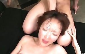 Chock-a-block JAV Myuu Bareback Bukkake Sexual intercourse Border Subtitled