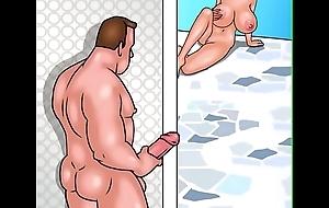 masturbating high point fucks bird poolside