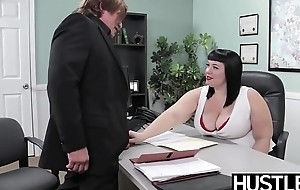 Deiform BBW Alexxis Supplicate fed cum inspection chubby horseshit hammering