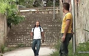 Latinos Matheus and Sandro Barebacking