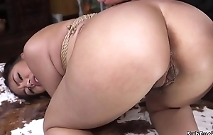 Victorian Asian whipped coupled with anal fucked