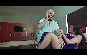 Om Puri together with Mallika Sherawat Making out In one's birthday suit Instalment - Hot Masala Scenes from Bollywood Glaze Libellous Political science - Blowjob