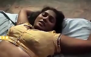 Desi aunty decided sexual congress jeopardize