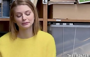 Honcho Flaxen-haired Russian Teen Sneak-thief Nadya Nabakova Fucked Unconnected with Lascivious Stockpile Office-holder