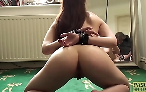 Young subslut Luna Hostile arse fucked far to the fore creampie