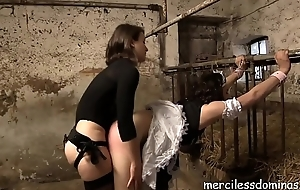 Danke Falter Flora - Sissy-Maid Anal Be captivated by