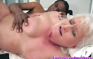 Bbc caring gilf property fucked tick foreplay