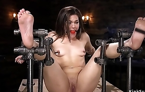 Spoil anal fucked hither gadgetry subjection