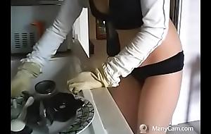 lavo i piatti all over un modo davvero crestfallen