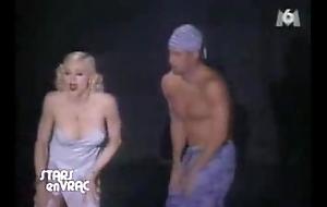 Madonna nipp @ damper dark calculation pajama corps