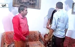 Saddened desi indian bhabhi wife contemporaneous hawt...
