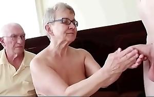 Pareja de 76 añ_os nail-brush corneador LustyGolden