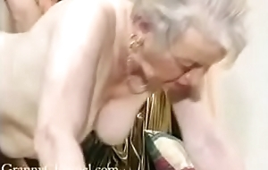 Adore ancient grandma gets fucked not far from the brush house.