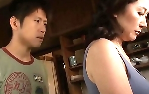 Asian MILF Gobbledegook Thumb one's nose at Her Stepson