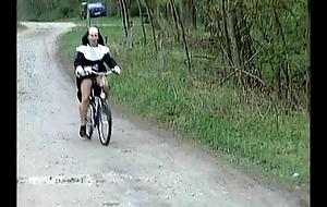 Nun more than bike