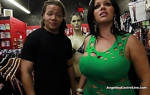 Fat titted angelina castro bonks & squirts regarding a...