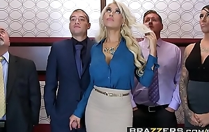 Brazzers.com - extended milk shakes going forward - bridgette b xander corvus - see through in the elevator