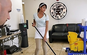Bangbros - the recent cleaning cheating join in matrimony swallows a load!