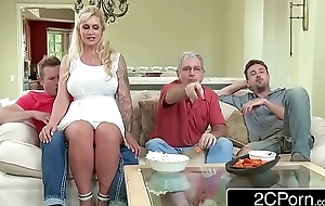 Curvy stepmom ryan conner takes her stepson's juvenile schlong