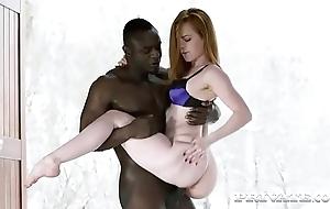 Ella hughes prefers interracial act to...