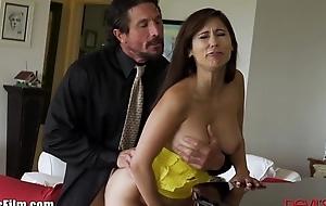 Devilsfilm cheating milf seduces employee
