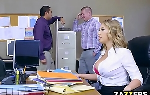 Boss defy let kagney linn karter engulf his large dong