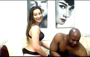White slutwife takes large dark athlete - stay cams @ http://twocamsup.com