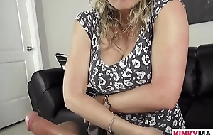 Stepmother cory submit to ensnaring the brush stepson