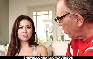 Shewillcheat- cuckold spouse watches off colour cheating wife fuck bbc