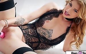 Pornstar tease - see arya fae, lengthy legs, taut wazoo, and little scruffy crack