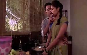 Indian maid rendering hot sex in the matter of owner