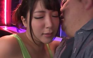 Non-restricted Asian MILF gets fucked complying and proper